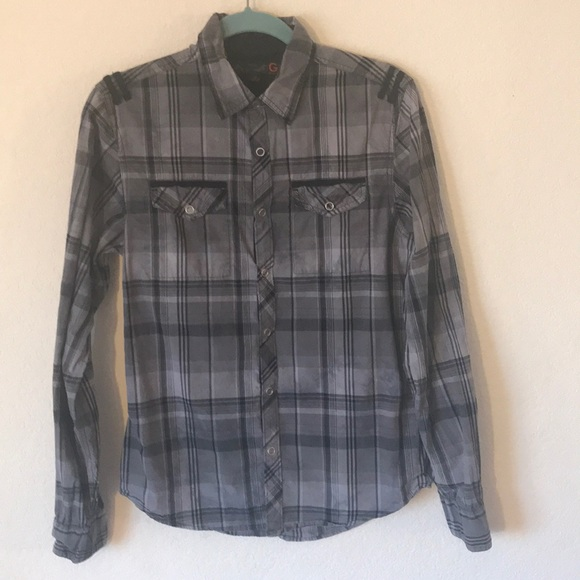 Guess Other - G by Guess Man's Button Down Shirt